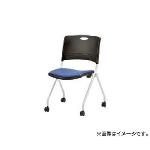 TOKIO ミーティングチェア(スタッキング) 布 クリアブルー FNCK5CB [r20][s9-910]