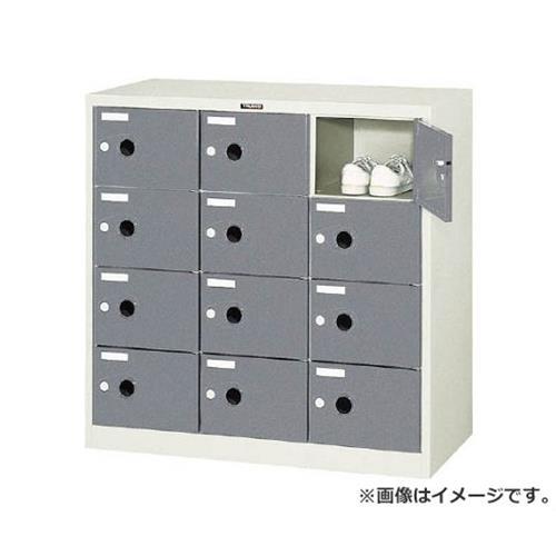 【初回限定お試し価格】 シューズケース 12人用 TRUSCO [r20][s9-930]:ミナト電機工業 SC12P 900X380XH880-DIY・工具