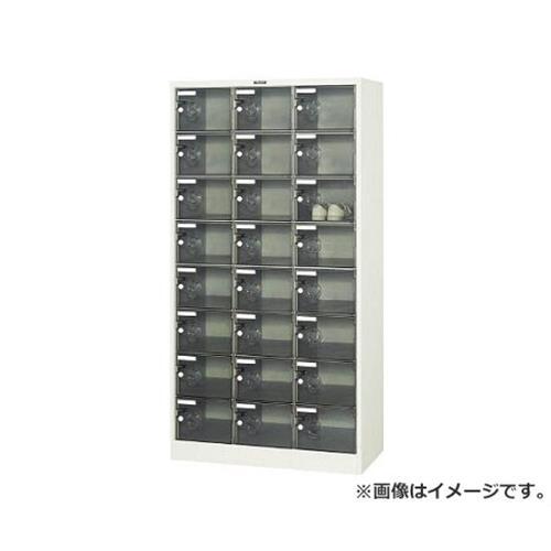 TRUSCO シューズケース 24人用 900X380XH1700 透明 SC24PC [r20][s9-910]