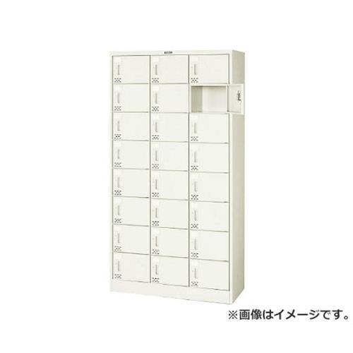 TRUSCO シューズケース 24人用 900X380XH1700 シリンダ錠 SC24PA [r21][s9-834]