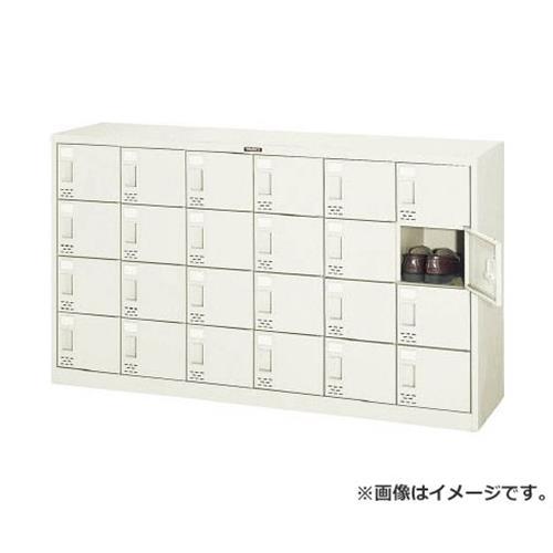 TRUSCO シューズケース 24人用 1552X380XH880 SC24 [r21][s9-930]