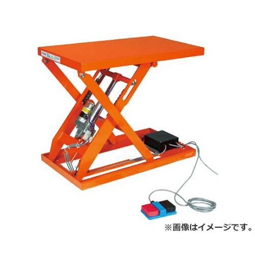 TRUSCO テーブルリフト150kg(電動Bねじ式100V)400×500mm HDLL1545V12 [r20][s9-834]