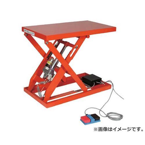 TRUSCO テーブルリフト200kg(電動Bねじ式200V)600×750mm HDLW2067V22 [r21][s9-940]