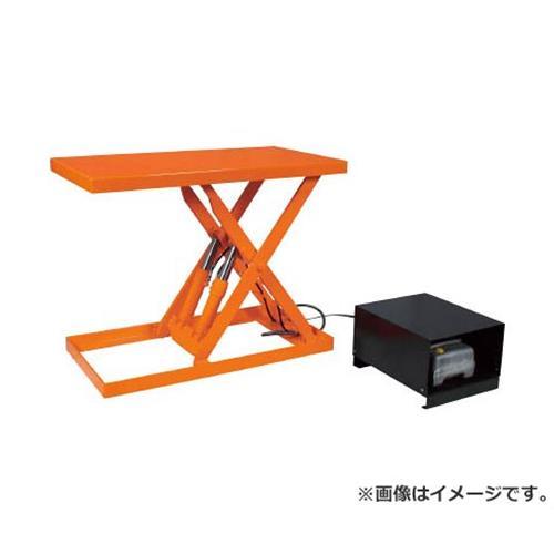 TRUSCO ピットレスローリフト500kg 電動式 900X600 超低床型 FL50609 [r20][s9-940]