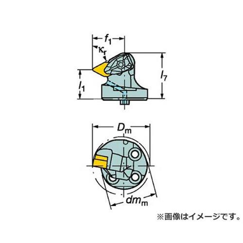 サンドビック コロターンSL コロターンRC用カッティングヘッド 570DDXNR4015L [r20][s9-910]