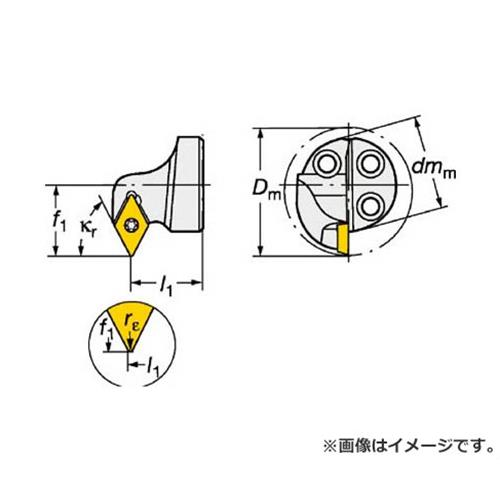 サンドビック コロターンSL コロターン111用カッティングヘッド 570SDXPR1607E [r20][s9-910]