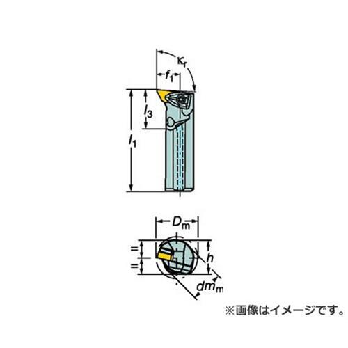 サンドビック コロターンRC ネガチップ用ボーリングバイト A40TDDUNR15 [r20][s9-920]