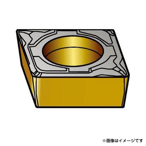サンドビック コロターン107 旋削用ポジ・チップ H13A CCMT09T302KF ×10個セット (H13A) [r20][s9-910]