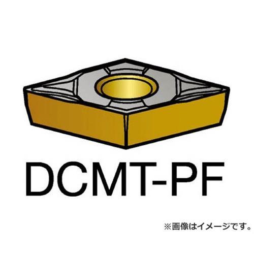 サンドビック コロターン107 旋削用ポジ・チップ 1515 DCMT11T302PF ×10個セット (1515) [r20][s9-910]