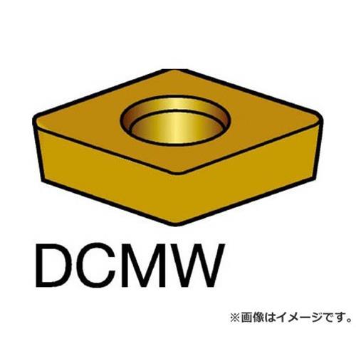 サンドビック コロターン107 旋削用ポジ・チップ H13A DCMW11T304 ×10個セット (H13A) [r20][s9-910]