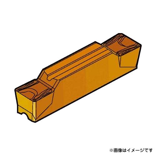 サンドビック コロカット2 突切り・溝入れチップ H13A N123K206000004TM ×10個セット (H13A) [r20][s9-910]