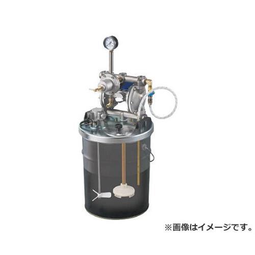 アネスト岩田 中形ダイヤフラムペイントポンプ 20Lペール缶用タンクマウント式 DPS902E [r20][s9-910]