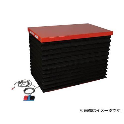 TRUSCO テーブルリフト500kg 油圧式 650X1050 蛇腹付 HDL500610J [r21][s9-940]