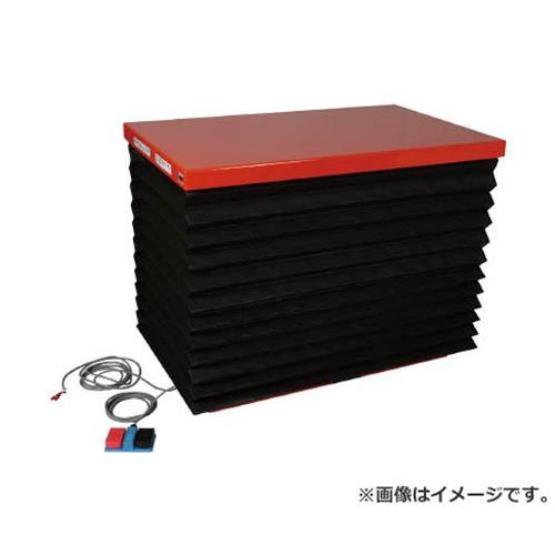 TRUSCO テーブルリフト500kg 油圧式 650X1200 蛇腹付 HDL500612J [r21][s9-940]
