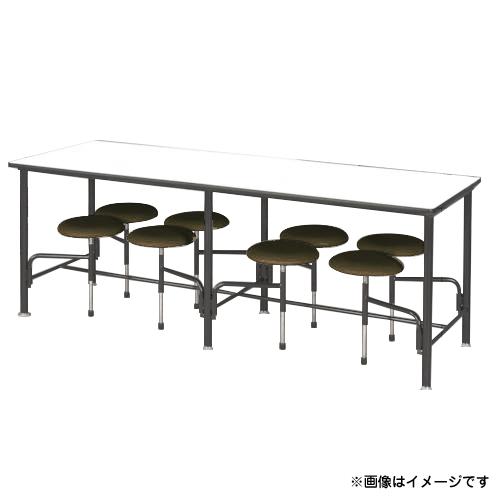 ニシキ 食堂テーブル 8人掛 グリーン STM2175GN [r20][s9-910]