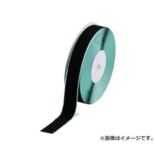 TRUSCO マジックテープ 糊付A側 幅50mmX長さ25m 黒 TMAN5025BK [r20][s9-831]