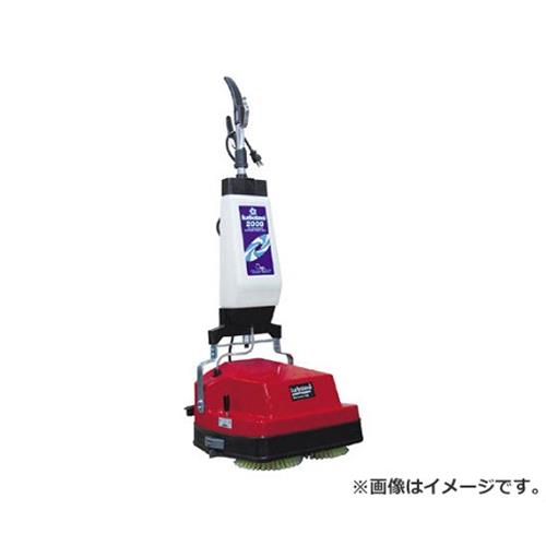 シーメル 小型床面洗浄機ターボラバ2000 TL2000 [r20][s9-910]