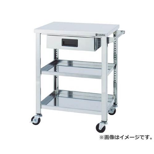 アズマ ステンレスワゴンSGシリーズ 900×600×800 3段 引出し付 WGO3900H [r21][s9-930]