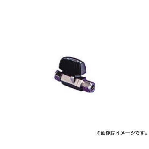 フジキン ステンレス鋼製3.92MPaパワフル継手付ボール弁 PUBV9412.7 [r20][s9-910]