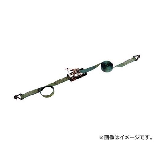 TRUSCO 強力型ベルト荷締機 75mm幅 2500kg Jフックタイプ GX752500J [r20][s9-910]