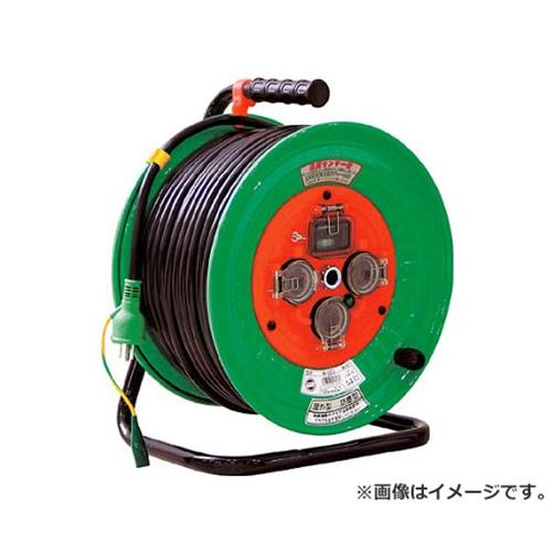 日動 防雨型漏電遮断器付電工ドラム NWEB53 [r20][s9-920]
