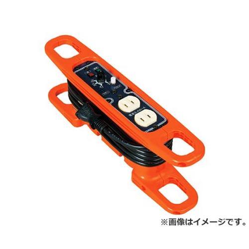 日動 ハンドリール 電流コントロールリール 100V 2芯×3m 黒 HRC032 [r20][s9-910]