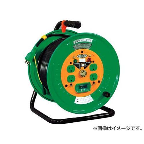 日動 金属センサードラム 100V アース漏電しゃ断器付 30m KSEB34 [r20][s9-930]