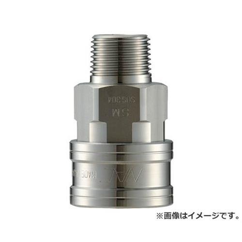 ナック クイックカップリング TL型 ステンレス製 メネジ取付用 CTL08SM3 [r20][s9-910]