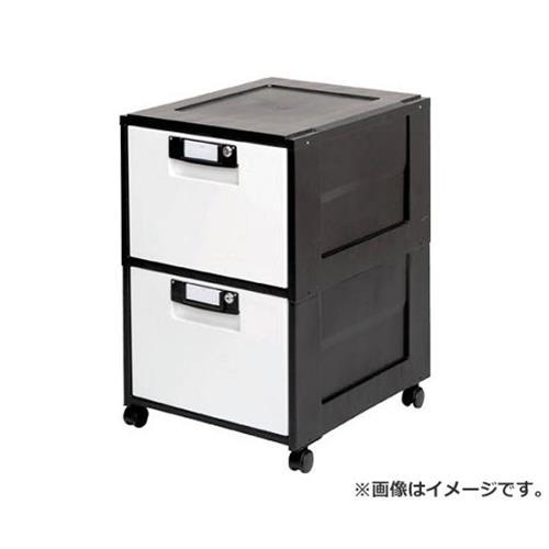 IRIS オフィスキャビネット HG-202 ブラック HG202BK [r20][s9-910]