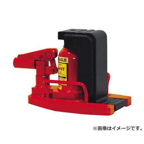 イーグル 低床・レバー回転・安全弁付爪つきジャッキ 爪能力3t G60T [r20][s9-833]