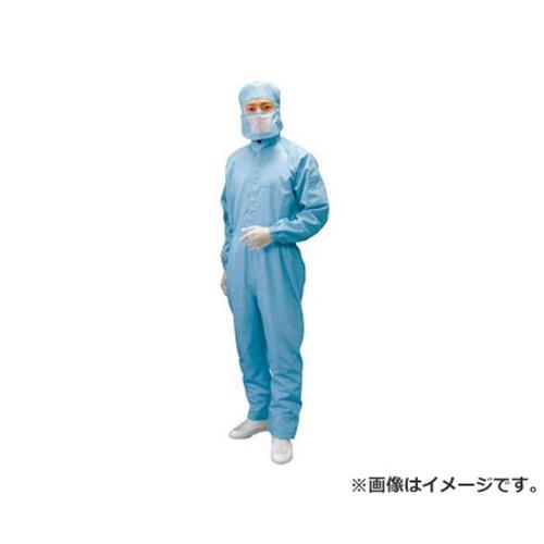 ブラストン ケミカルリサイクルフード付カバーオール-青-LL BSC11410EBLL [r20][s9-910]