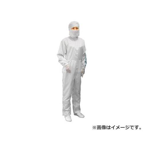 ブラストン ケミカルリサイクルフード付カバーオール-白-3L BSC11410EW3L [r20][s9-910]