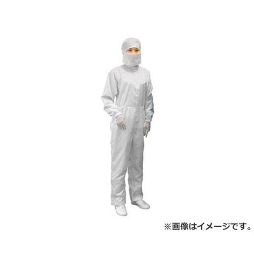 ブラストン ケミカルリサイクルフード付カバーオール-白-L BSC11410EWL [r20][s9-910]