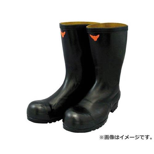 SHIBATA 安全耐油長靴(黒) SB02126.5 [r20][s9-910]
