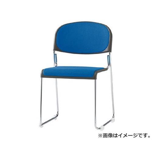TOKIO ミーティングチェア(スタッキング) 布 ブラック FNM10BK [r20][s9-910]