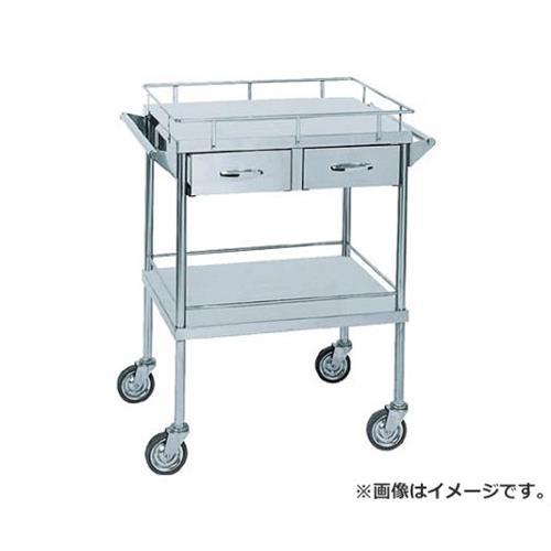 米沢 ステンレスワゴン2列引出付 SUS220C [r20][s9-940]