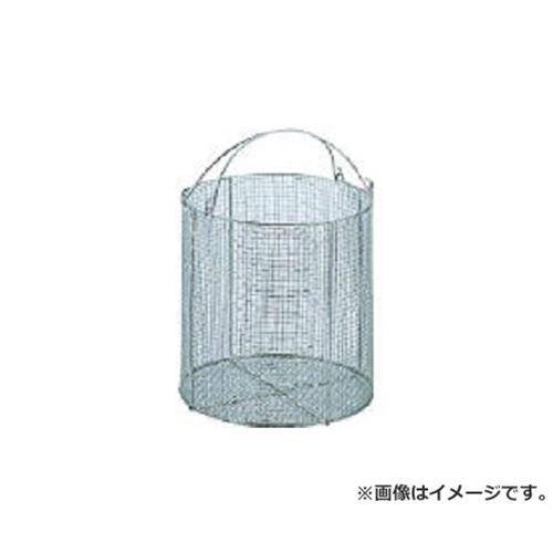 サンワ ステンレス丸型洗浄カゴ 特大 SM40 [r20][s9-910]