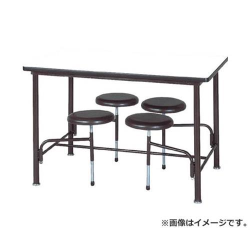 ニシキ 食堂テーブル 4人掛 ブラウン STM1275BR [r20][s9-910]