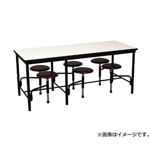 ニシキ 食堂テーブル 6人掛 ブラウン STM1875BR [r20][s9-910]