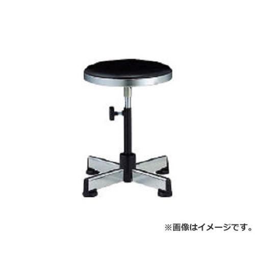 ノーリツ 作業用チェア ビニールレザー 黒 TD2 (BK)