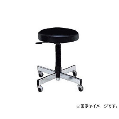 ノーリツ 作業用チェア ビニールレザー 黒 TL6L (BK)