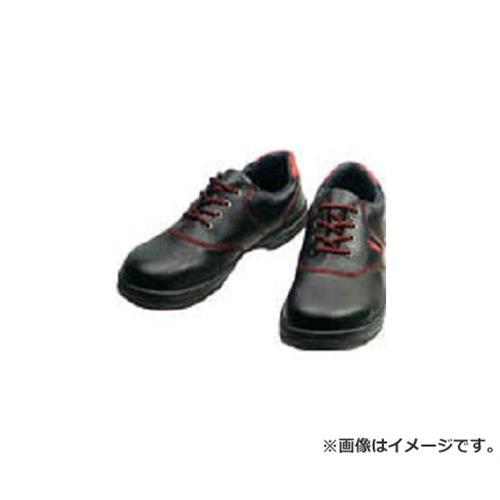 シモン 安全靴 短靴 SL11-R黒/赤 25.0cm SL11R25.0 [r20][s9-910]