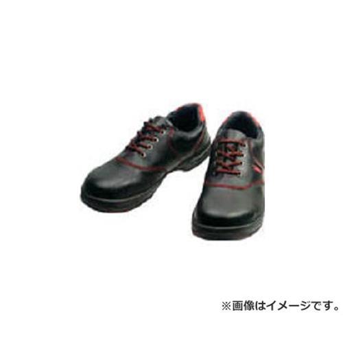 シモン 安全靴 短靴 SL11-R黒/赤 25.5cm SL11R25.5 [r20][s9-910]