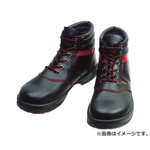 シモン 安全靴 編上靴 SL22-R黒/赤 25.5cm SL22R25.5 [r20][s9-910]
