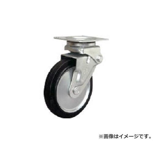 シシク 緩衝キャスター 自在 150径 スーパーソリッド車輪 SAJHO150SST [r20][s9-910]