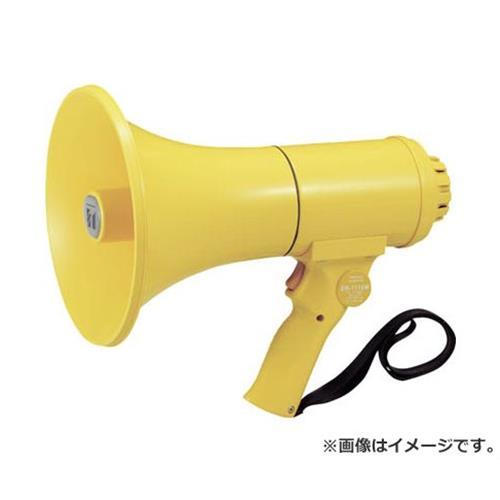 TOA 中型ハンド型メガホン ホイッスル音付き ER1115W [r20][s9-910]