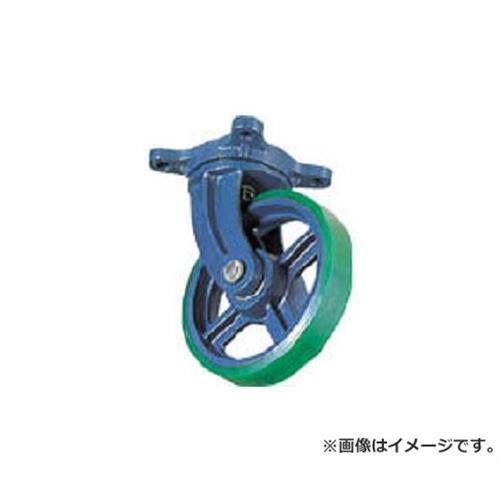 京町 ダクタイル製自在金具付ウレタン車輪200MM FJ200 [r22][s9-039]