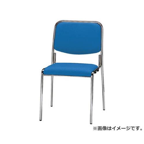 TOKIO ミーティングチェア(スタッキング) 布 クリアブルー FSX4CBL [r20][s9-830]