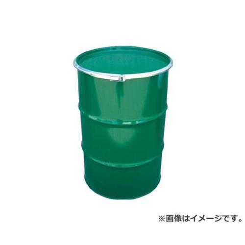 JFE 鋼製ドラム缶 オープンタイプ 外レバー式 200L KD200LSTS [r20][s9-910]