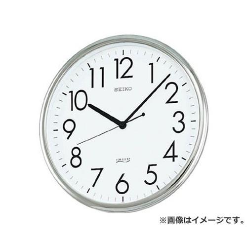 SEIKO オフィスクロック 直径314×36 P枠 銀色 KH220A [r20][s9-910]